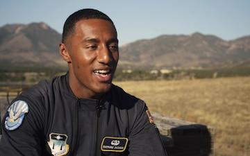 Wings of Blue Feature - USAFA Cadet Raymone Jackson