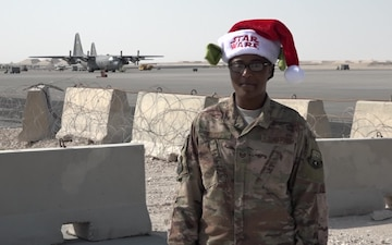 "Tech. Sgt. Shaniqua Rogers' Christmas/Holiday ""Shout Out"""