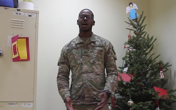 Sgt. Robinson 202 MP CO holiday shoutout
