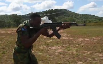 818 MSAS trains Zambian Air Force