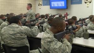 Basic Military Training M16A2 Rifle Instruction