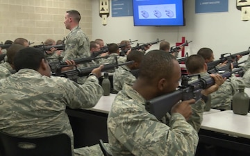 Basic Military Training M16A2 Rifle Instruction