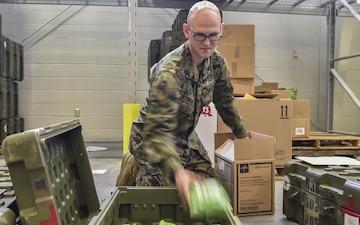 4th Medical Logistics Company provides global support