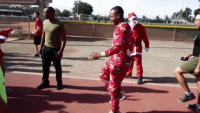 MCAS Miramar Marines celebrate the holidays