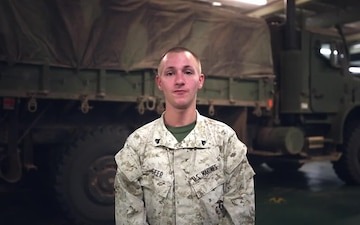 Holiday shoutout from Cpl. Geer aboard FS Tonnerre