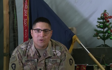 SPC Charlie Quintero Holiday Greetings Brownsville, TX