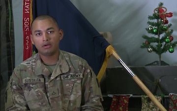 PFC Felipe Sustain Holiday Greetings Pharr, TX