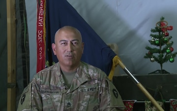 SSG Juan SalasSandoval Holiday Greetings San Benito, TX