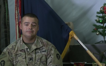 SPC Benjamin Smith Holiday Greetings Palestine, TX