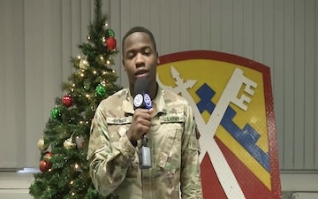 SPC Antonio Butler Sends Greetings to Family
