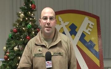 SPC Merrifield sends greetings to family