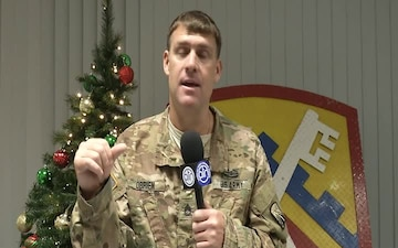 SFC O'Brien sends greetings to family