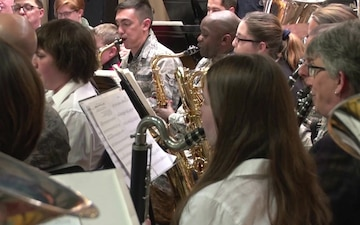 ANG Band of the Northeast Performs Holiday Concert