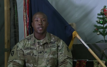 SPC James Jackson Holiday Greetings Midlothian, TX