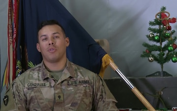 SPC Hector Gonzalez Holiday Greetings Tomball, TX