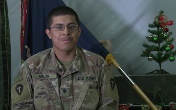 SPC Jose Mejia Holiday Greetings Brownsville, TX