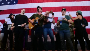 USO Holiday Tour aboard USS Theodore Roosevelt