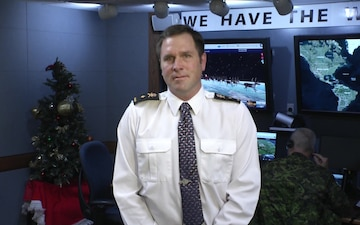 NORAD Tracks Santa Interview with CP24, Toronto