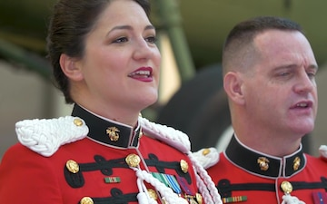 """Carol of the Bells"" across the military services"