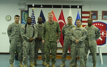Mississippi National Guard Holiday Shout Out from Kosovo