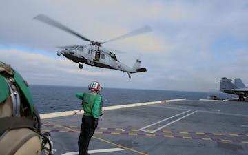 USS John C. Stennis September Underway Wrap Up