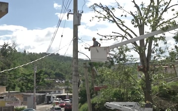 Grid Restoration in Trujillo Alto, Puerto Rico