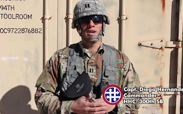 300th SB Deployment Readiness Exercise