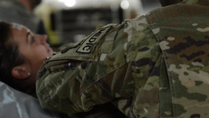 455th EMDG conducts MACAL training exercise at Craig Joint Theater Hospital.