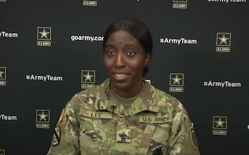 2018 All American Bowl - Staff Sgt. China Lee Interview
