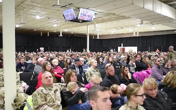 The 38th Sustainment Brigade is supporting the homeland and nation abroad