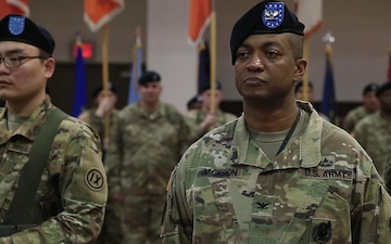 Eighth Army Change of Command Ceremony