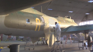 Boeing B-17F Memphis Belle-Restoration Update Jan. 2018