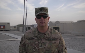 First Sergeant Craig McGue