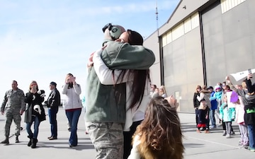 165th Airlift Wing - Homecoming