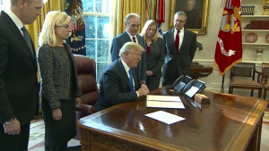 President Signs Executive Order for Veteran Support