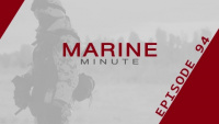 Marine Minute, January 11, 2018