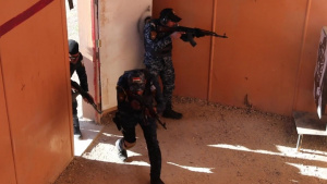 Shoot House Training - Iraqi Federal Police Training Academy
