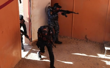 Shoot House Training - Iraqi Federal Police Training Academy
