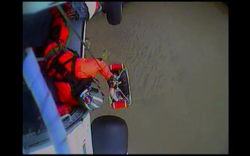 Coast Guard aircrew rescues man at Hug Point