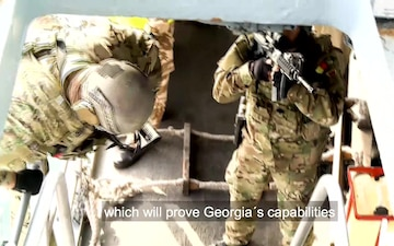 NATO-Georgia Train to Tackle Terrorism in the Black Sea (With Subtitles)