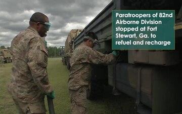 Paratrooper Pit Stop