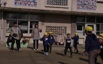 Iwakuni service members build friendships with Japanese children through teaching, dancing (B-Roll)