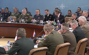 Joint Press Conference following the Military Committee in Chiefs of Defense Session, Opening Remarks B-Roll
