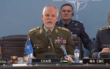 Joint Press Conference following the Military Committee in Chiefs of Defense Session, Opening Remarks