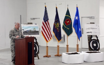 Fort Indiantown Gap Training Support Center groundbreaking ceremony official party remarks