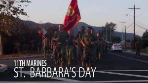 11th Marines' St. Barbara's Day