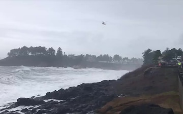 Coast Guard continues search for missing male in Depoe Bay, Oregon