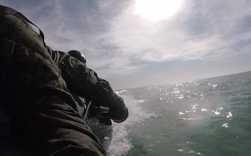 Exercise Iron Fist 2018: Amphibious Reconnaissance Training