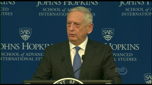 Secretary of Defense Announces National Defense Strategy