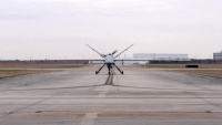 MQ-9 Reaper takes flight in Houston